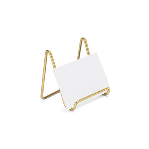 Baby Brass Card Holder (Set of 4)