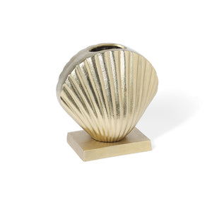 Gold Clam Vase - NEARLY GONE!