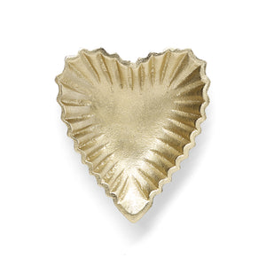 Gold Heart Dish