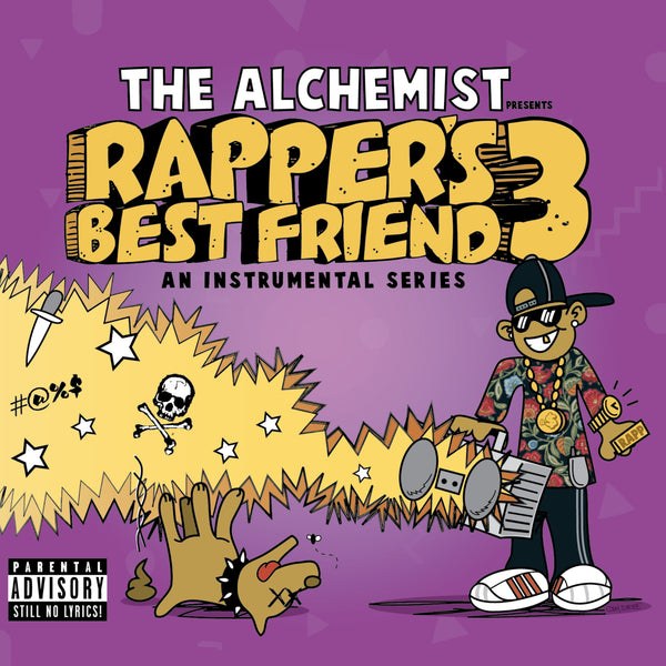 THE ALCHEMIST - RAPPER'S BEST FRIEND 3 (CD)