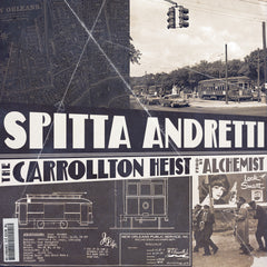 Spitta Andretti (Curren$y) & Alchemist - The Carrollton Heist (LP)