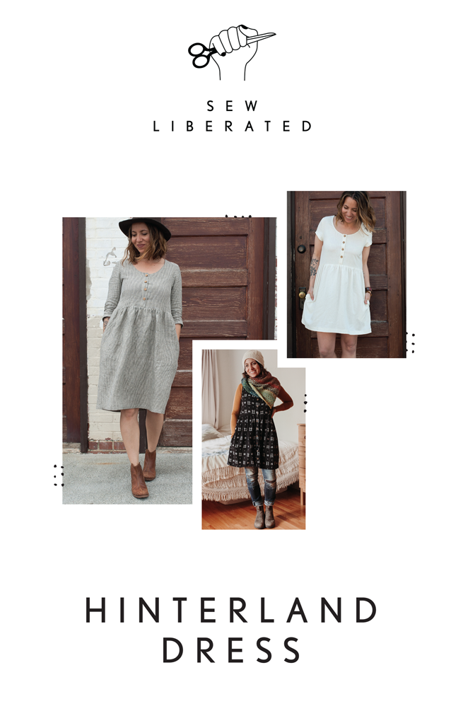 HINTERLAND DRESS sewing pattern