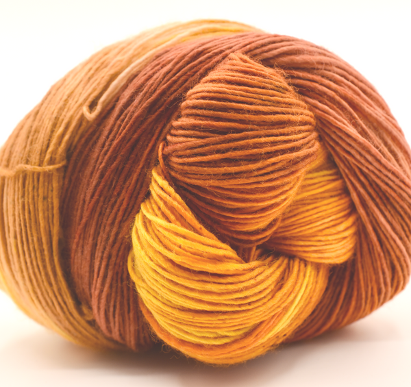 LEAF PEEPER sw Merino single sock