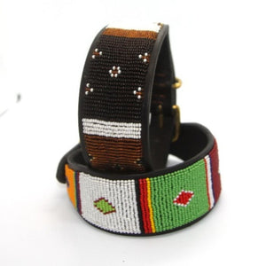 "Whippet Dog Collar<br>Neck size 11""-13"" (28-34cm) 2"" (5cm) wide"