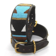 "Load image into Gallery viewer, Lurcher Dog Collar<br>Neck size 13""-15"" (33-39cm) 2"" (5cm) wide"