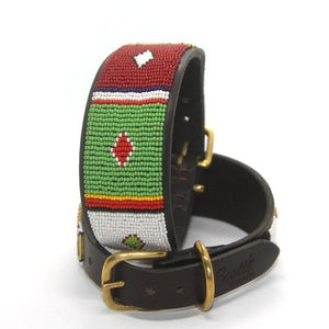 "Lurcher Dog Collar<br>Neck size 13""-15"" (33-39cm) 2"" (5cm) wide"