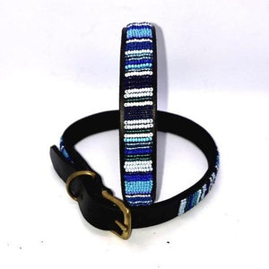 "Large breed Dog Collar<br>Neck size 18""-20"" (46-51cm) 3/4"" (2cm) wide"