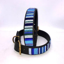 "Load image into Gallery viewer, Large breed Dog Collar<br>Neck size 18""-20"" (46-51cm) 1"" (3cm) wide"