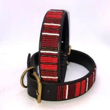 "Load image into Gallery viewer, X-Large/Mountain Dog Collar<br>Neck size 21""-23"" (53-59cm) 1"" (3cm) wide"