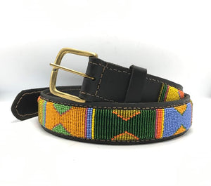 Masai hand-beaded belts