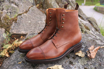 Carlos Santos 8866 Jumper Boot in soft Brown Kudu