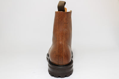 Carlos Santos 8866 Jumper Boot in soft Brown Kudu Back View