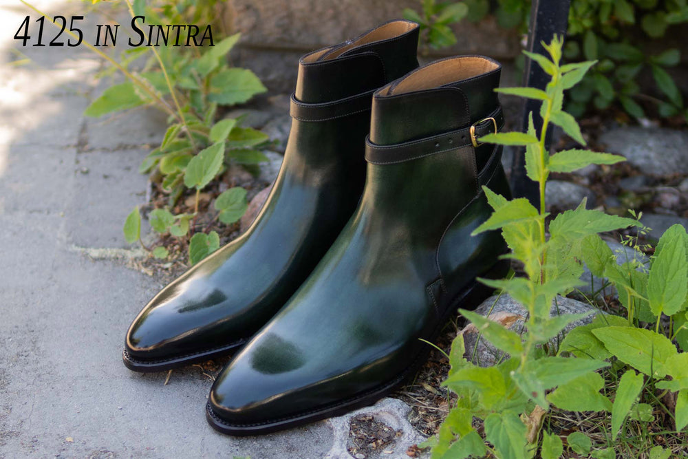 Carlos Santos 4125 Jodhpurs in Sintra Patina for The Noble Shoe