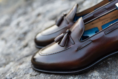 Carlos Santos 4210 Tassel Loafers in Guimaraes for The Noble Shoe 4