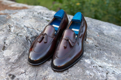 Carlos Santos 4210 Tassel Loafers in Guimaraes for The Noble Shoe 7