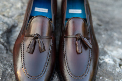Carlos Santos 4210 Tassel Loafers in Guimaraes for The Noble Shoe 5