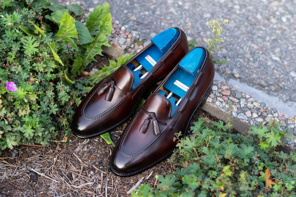 Carlos Santos 4210 Tassel Loafers in Guimaraes for The Noble Shoe 6