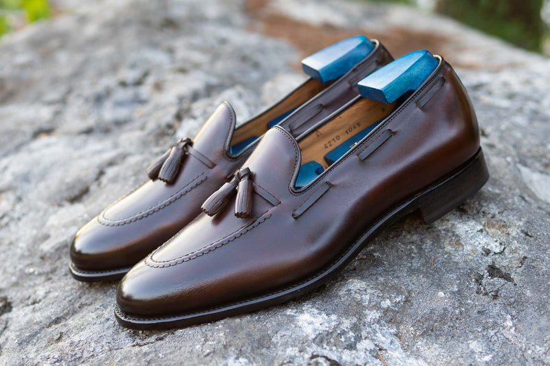 Carlos Santos 4210 Tassel Loafers in Guimaraes for The Noble Shoe