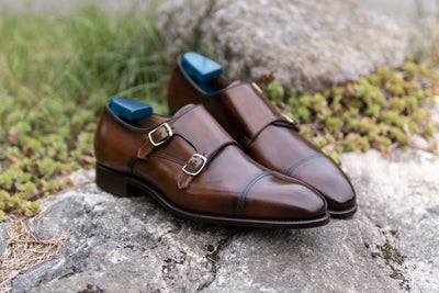 Carlos Santos 6942 Double Monks in Algarve Patina for The Noble Shoe 10