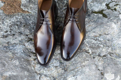 Carlos Santos 7991 Chukka Boots in Coimbra Patina for The Noble Shoe  3