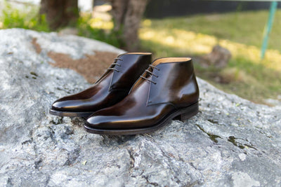 Carlos Santos 7991 Chukka Boots in Coimbra Patina for The Noble Shoe  4