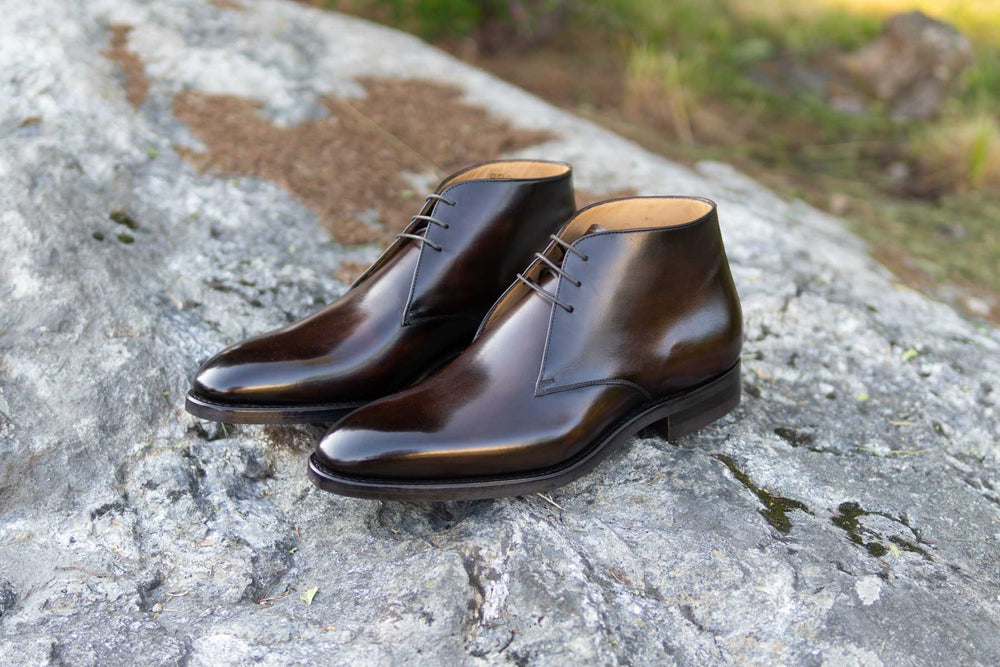 Carlos Santos 7991 Chukka Boots in Coimbra Patina for The Noble Shoe  5