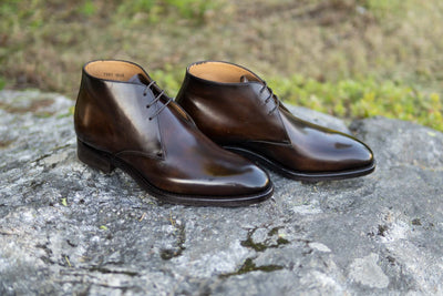 Carlos Santos 7991 Chukka Boots in Coimbra Patina for The Noble Shoe 8