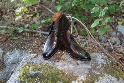 Carlos Santos 7991 Chukka Boots in Coimbra Patina for The Noble Shoe  2
