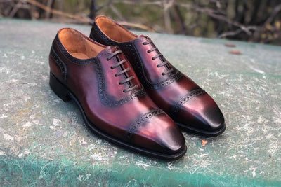 Carlos Santos 8618 Handgrade adelaide in Wine Shadow for The Noble Shoe 1