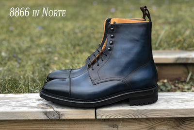 Carlos Santos 8866 Jumper Boots in Norte Patina for The Noble Shoe