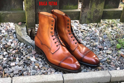 Carlos Santos 9156 Field Boot in Braga Patina GMTO for The Noble Shoe