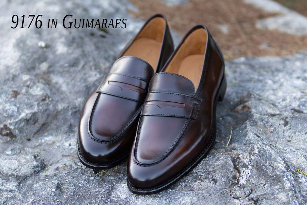 Carlos Santos 9176 Penny Loafers in Guimaraes for The Noble Shoe