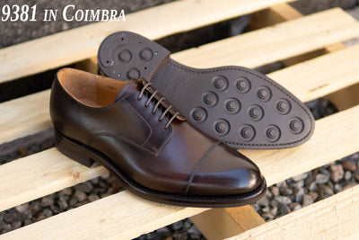 Carlos Santos 9381 Derby in Coimbra Patina for The Noble Shoe
