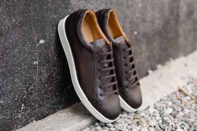 Carlos Santos 9617 Sneakers in Coimbra Patina for The Noble Shoe 3