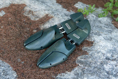 Carlos Santos Shoe Trees Green for The Noble Shoe 1