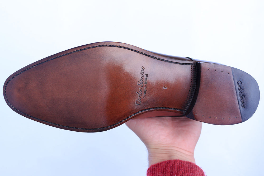 Carlos Santos Leather Sole