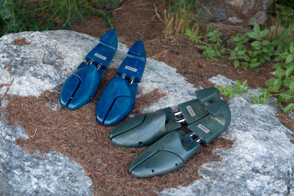 Carlos Santos Shoe Trees Norte & Green for The Noble Shoe 2