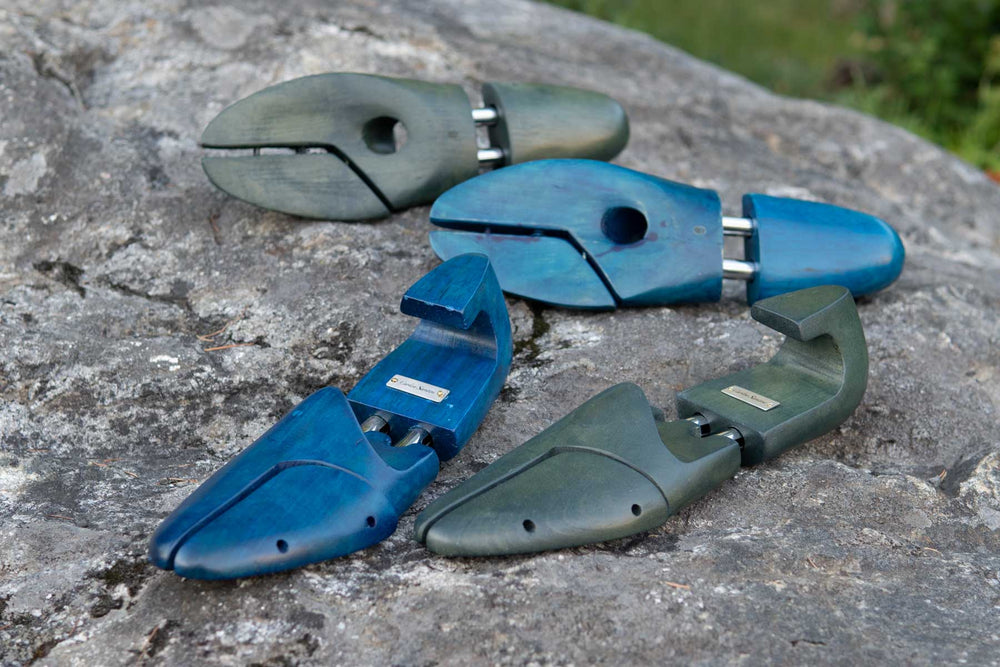 Carlos Santos Shoe Trees Norte & Green for The Noble Shoe 1