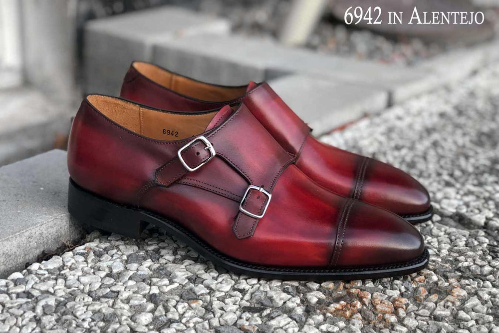Carlos Santos 6942 in Alentejo Patina for The Noble Shoe