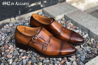 Carlos Santos 6942 in Algarve Patina for The Noble Shoe