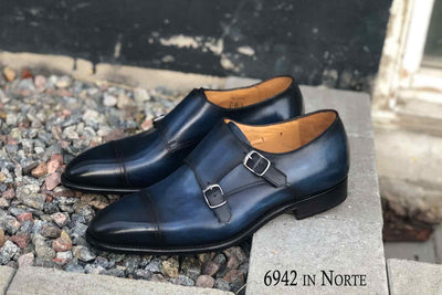Carlos Santos 6942 in Norte Patina for The Noble Shoe