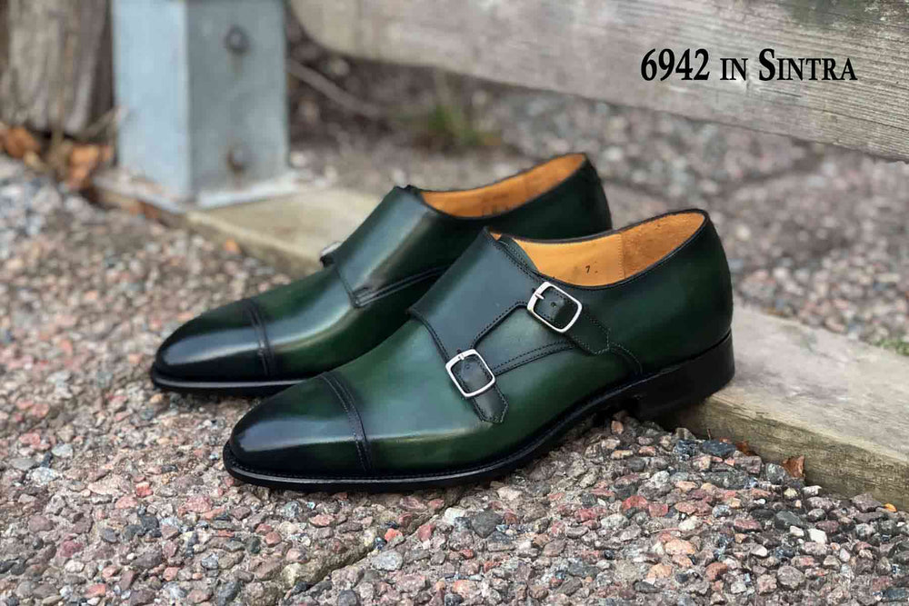 Carlos Santos 6942 in Sintra Patina for The Noble Shoe