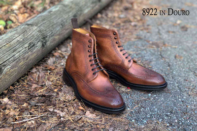 Carlos Santos 8922 in Douro Patina for The Noble Shoe