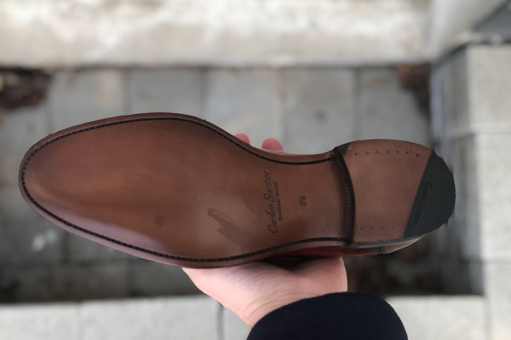 Carlos Santos 9176 Penny Loafer for The Noble Shoe - Sole