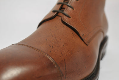 Carlos Santos 8866 Jumper Boot in soft Brown Kudu Close Up