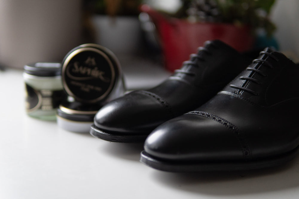 Crockett & Jones Belgrave Handgrade in Black Calf for The Noble Shoe 2