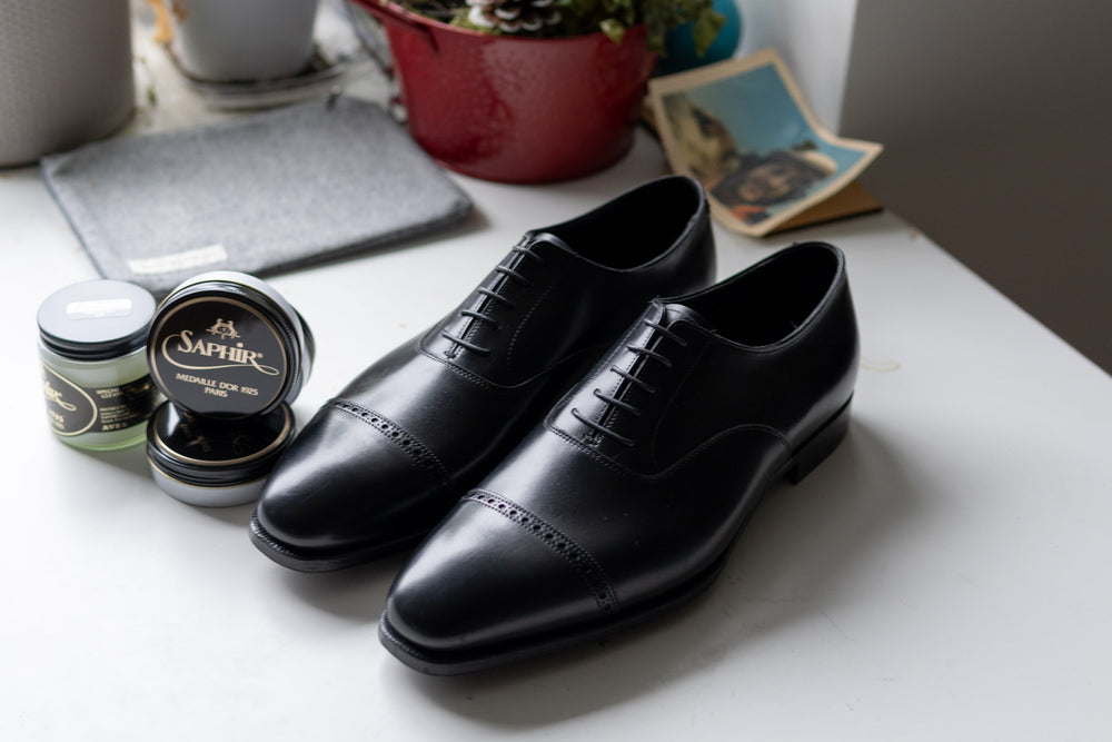 Crockett & Jones Belgrave Handgrade in Black Calf for The Noble Shoe 3