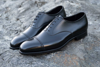 Crockett & Jones Belgrave Handgrade in Black Calf for The Noble Shoe 5