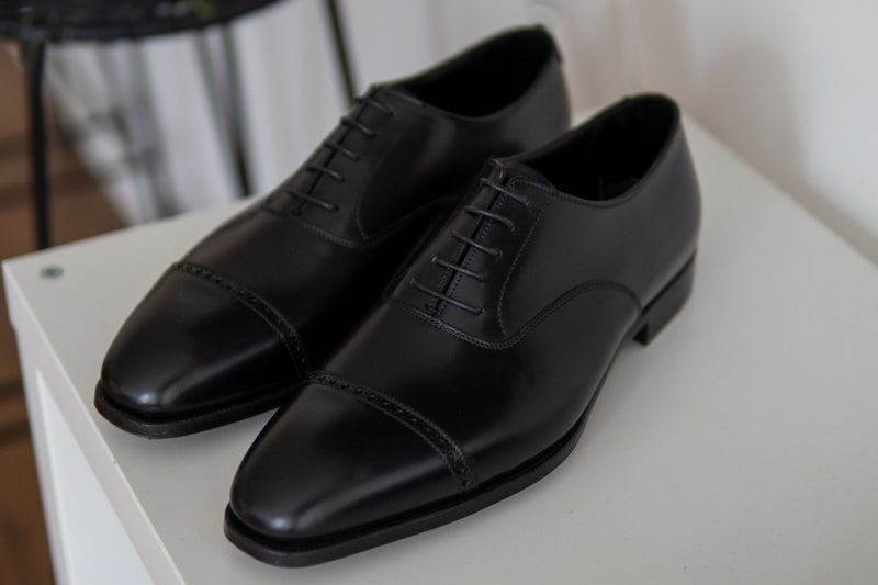 Crockett & Jones Belgrave Handgrade in Black Calf for The Noble Shoe