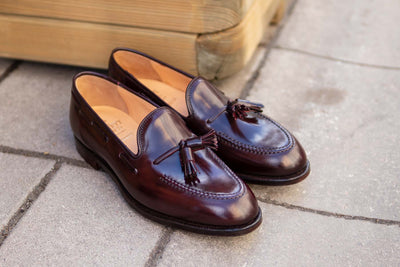 Crockett & Jones Cavendish in Burgundy Color 8 Shell Cordovan for The Noble Shoe